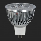 MR16 4W 400lm luz blanca fría 5-6063 SMD LED lámpara