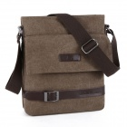 K2 K924 Canvas Belt Decoration Messengers  Bag - Khaki
