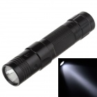 Small Sun ZY-526 80lm 6000K White Light Flashlight - Black (1 x AA Battery )