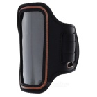 Stylish Sports Gym Neoprene Armband Case for LG Nexus 5 - Black + Red