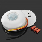 3.6A 220V 140 Degree Human Body IR Sensor Switch - White