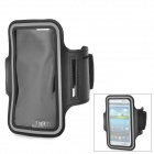 IKKI Sports Gym Neoprene Armband Case for Samsung Galaxy S3 / S4 i9500 / HTC One X / M7 - Black