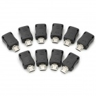 Download Mode Adaptor Reset Counter Connector Micro USB Jig for Samsung i9100 + More (10 PCS)