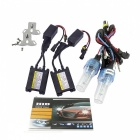 H7 55W 4200lm Warm White Car HID Xenon Lamps w/ Ballasts (Pair)