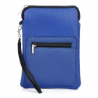 "Protective PU Leather Sleeve Bag for 7"" Tablet PC / Cellphone - Blue"