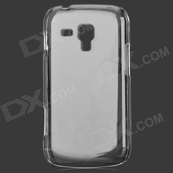 Simple Protective PC Back Case for Samsung Galaxy Trend Duos S7562 - Transparent White