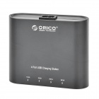 ORICO DCH-4U 4 Port USB Charger Power Adapter for IPHONE + IPAD + More - Black