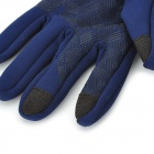 Santo LXG-63 Outdoor Sports Cycling / Mountaineering Cycling Non-Slip Gloves - Blue (M)