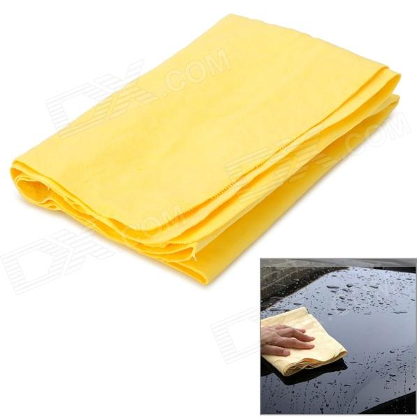 Foam Cotton Towel - Yellow