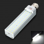Lexing LX-HCD-2 E27 15W 1200LM 7000K White 36-5730 SMD LED Lamp - White + Silver (85~265V)