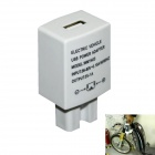 36-80V Electric Vehicle Charger USB Power Adapter 5V 1A for Mobile Phone - White