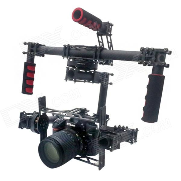 HJ-911 DSLR 3-axis Brushless Gimbal / Handheld Camera Gimbal / PTZ 2015 hot sale quadcopter 3 axis gimbal brushless ptz dys w 4108 motor evvgc controller for nex ildc camera