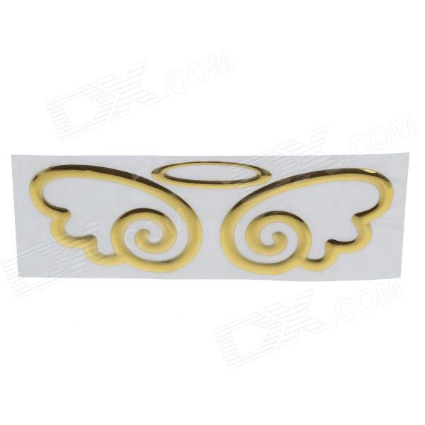 Creative Angel wings Pattern Car Decoration Sticker creative devil pattern car decoration sticker red golden