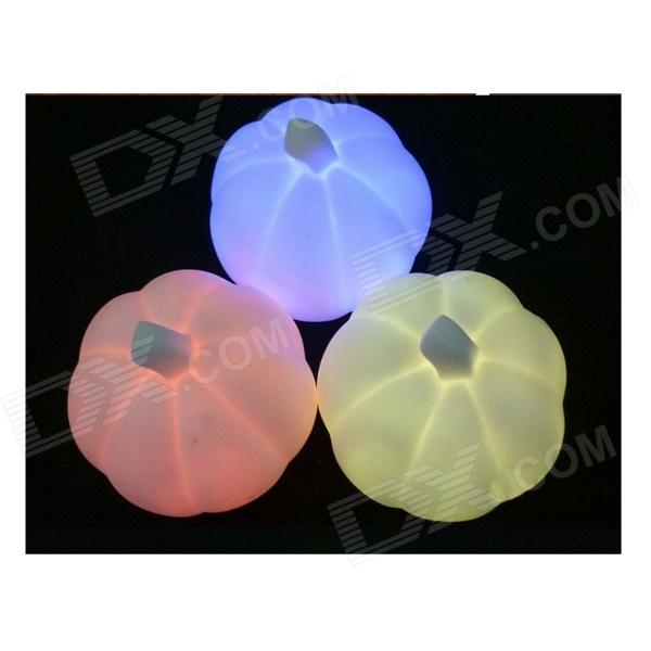 Colorful Pumpkin Shape Night Light - Multicolored