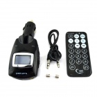 "1.1"" LCD Wireless FM Transmitting Car MP3 Player w/ SD/ USB + Remote Control - Black (DC 12~24V)"