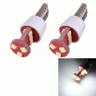 T10 4.5W 495lm 9 x SMD 2323 LED Error Free Canbus White Light Car Clearance Lamp  (DC 12V / 2 PC)