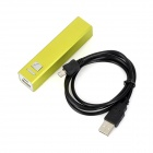Universal 2600mAh Rechargeable Li-ion Portable Power Bank + Charging Cable for IPHONE + More