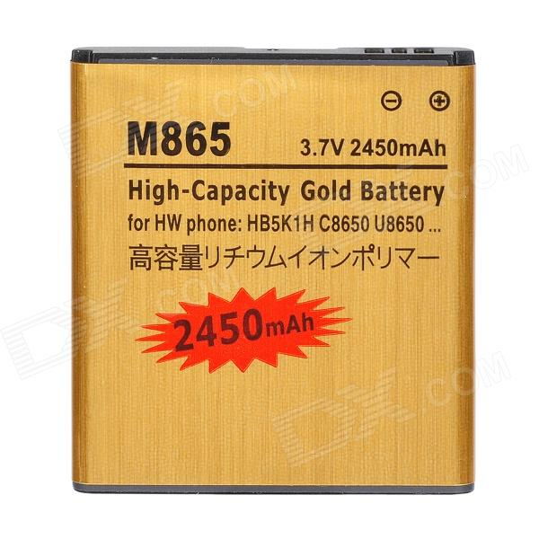 M865-GD 3.7V 1000mAh Rechargeable Li-ion Battery for Huawei C8650 / U8650 / HB5K1H / MB65 - Golden адаптер usb tenda w311u 150m rt3070 sma