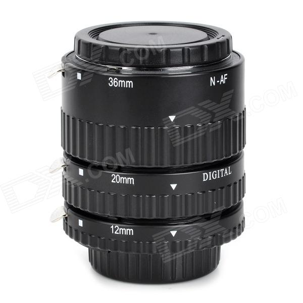 Commlite CM-PE-AFN Electronic TTL Auto Focus AF Macro Extension Tube / Ring for Nikon - Black gerald j murphy c algebras and operator theory