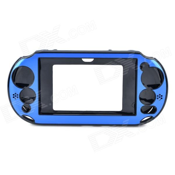 Protective Aluminium Plastic Case for PS Vita 2000 - Blue