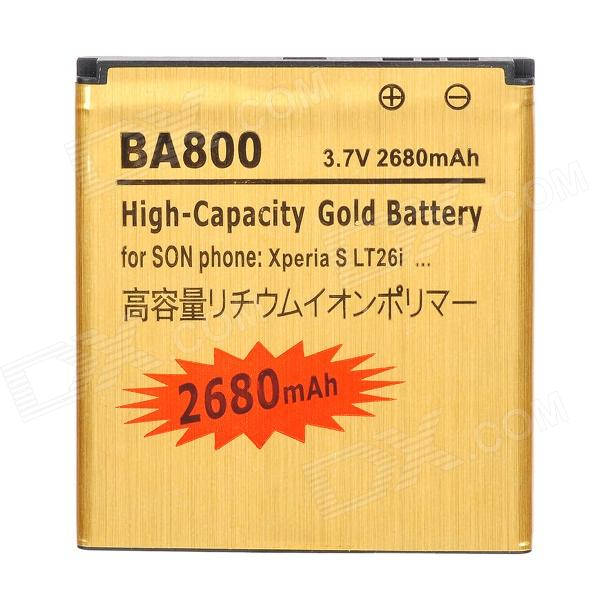 BA800-GD 3.7V 1450mAh Rechargeable Li-ion Battery for Sony Xperia S / LT26i / LT25c / LT25i sony cp s15 s 15000 mah