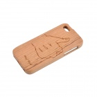 Good Pattern Protective Wooden Back Case for IPHONE 5