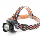 SLH SLH-H808 Rechargeable 120LM 3-mode White Light CREE XR-E Headlamp - Black