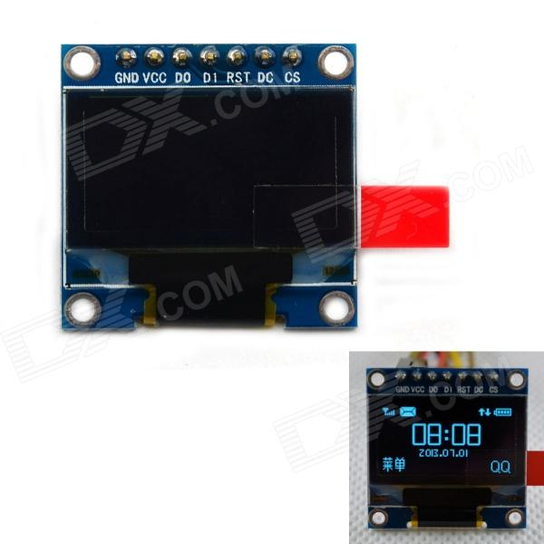 BONATECH 0.96-inch Display Screen Module / Blue Display - Black + Blue