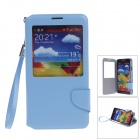 ipai HS3228 Fashion Visual Flip Protective Case w/ Strap for Samsung GALAXY NOTE 3 - Blue