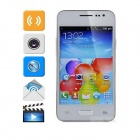 "HTM H9006 Android 2.3 GSM Bar Phone w/ 4.0"" / 2.0MP Camera / Wi-Fi -White"