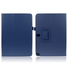 ENKAY ENK-7039 Protective Case w/ Stand for Samsung Galaxy Note 10.1 2014 Version P600 - Dark Blue