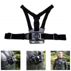 Fat Cat High Comfortable Elastic Adjustable Chest Mount w/ J Hook for GoPro Hero3+/3/2/1/SJ4000