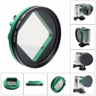 Fat Cat 52mm Converter + CPL Filter Circular Polarizer Lens Filter for Gopro Hero3+/SJ4000 Housing