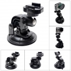 Fat-Cat 90mm Powerful Suction Cup Mount w/ Fast Release Plate for Gopro Hero 4/ 3+/3/2/1/SJ4000 - Black