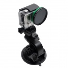 90mm Suction Cup Mount w/ Fast Release Plate for GoPro, SJ4000 - Black