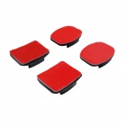 Adhesive Mount Kit w/ Waterproof Sticker for GoPro - Black + Red