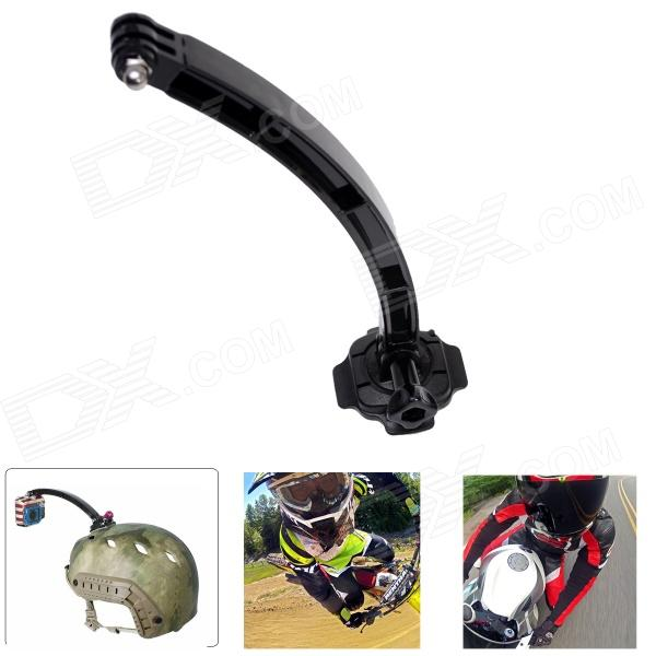Fat Cat 360 Degree Rotation Helmet Mount w/ Extension Arm/3M Sticker for Gopro Hero 4/ 3+/3/2/1/SJ4000 цена и фото