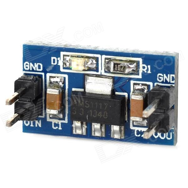 все цены на  AMS1117 3.3V CCL + Components Power Module - Deep Blue  онлайн