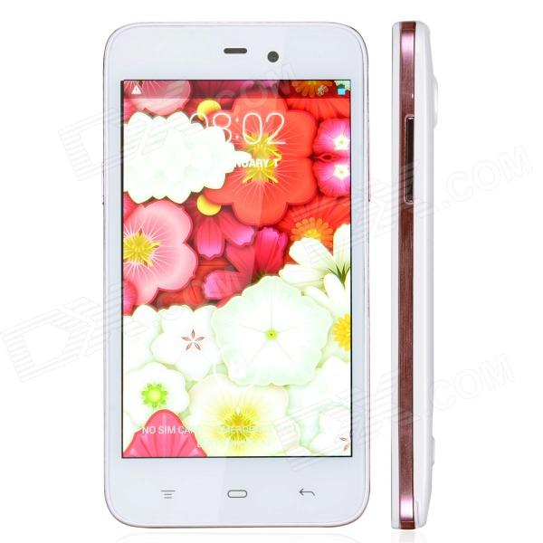 "4.2 WCDMA Bar K2 Android Phone w / 4.4 ""/ Wi-Fi / double caméra - Blanc"