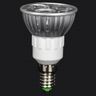 ZHISHUNJIA DB-14YE302 E14 3W 210lm 3200K 3 x SMD 6063 LED Warm White Light Lamp - (AC 85~265V)