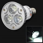 ZHISHUNJIA E14 3W 210lm 3 x SMD 6063 LED Cool White Light Lamp 85~265V