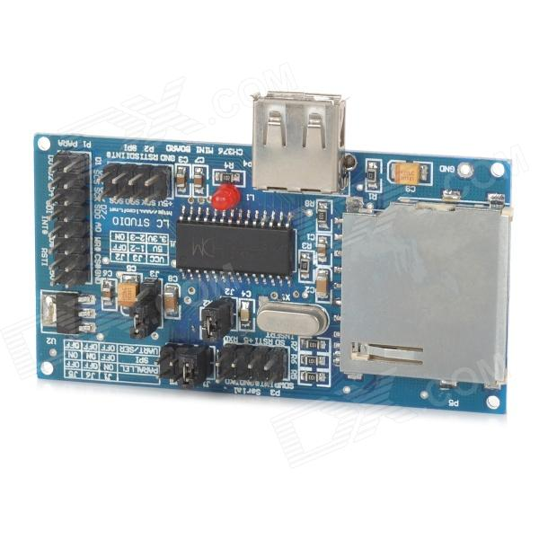 CH376  USB Development / Evaluation Board - Deep Blue fast free ship for gameduino for arduino game vga game development board fpga with serial port verilog code