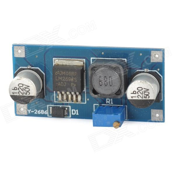 LM2596 DC to DC Voltage Reducing Converter / Circuit Board - Deep Blue only plug unified controllers in smart grids by synchronous converter