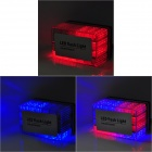 4W~6W 548lm 48-LED Red / Blue Flash Car Warning Light w/ Magnet (10.5~13.5V)