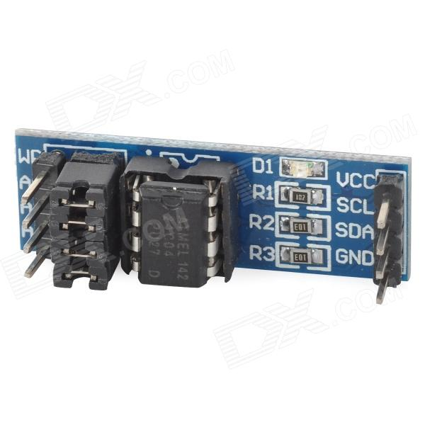 AT24C04 I2C EEPROM CCL + Components Storage Module - Deep Blue