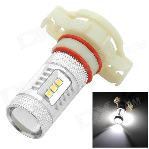 HJ HJ-2323-15W-H16 H16 15W 750lm 6000K 15-SMD 2323 LED White Car Foglight (10~30V) hj h16 8w 600lm 6500k 8 smd 2323 led white steering reversing lamp for car 12 24v 2pcs