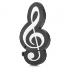 Buy Creative Music Note Style USB 2.0 Flash Drive - Black (8GB)