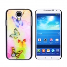 CM001 3D Butterfly Pattern Protective Plastic Back Case for Samsung Galaxy S4