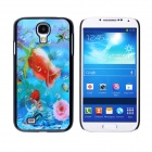CM001 3D Flower Pattern Protective Plastic Back Case for Samsung Galaxy S4