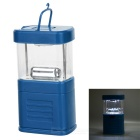 11-LED White Light Camping and Garden Lantern - Blue (3*AA)